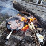 frukost utomhus