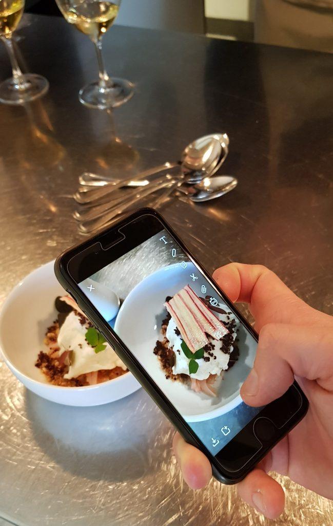 rabarber getyoghurt