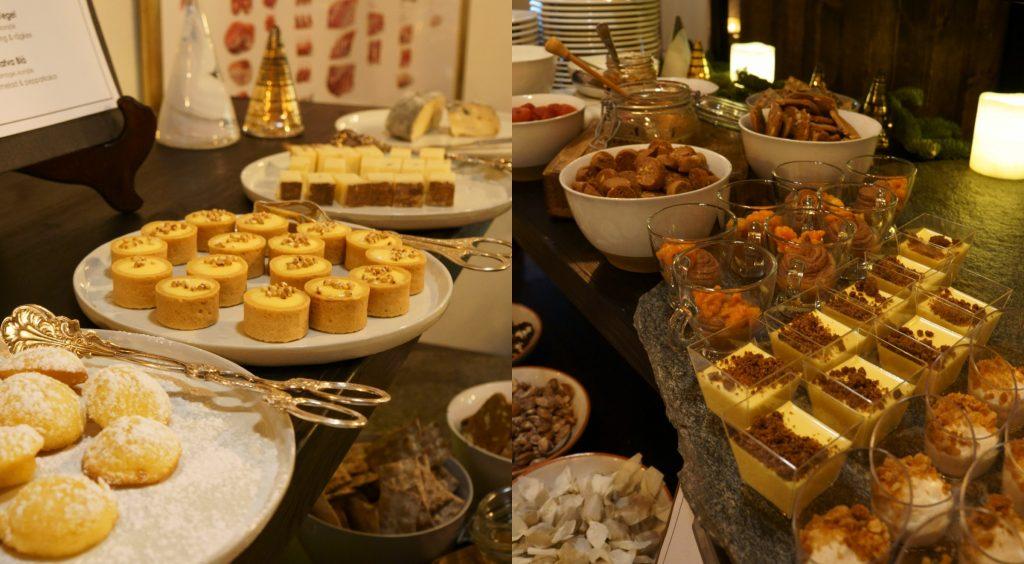 julbord dessert edsbacka